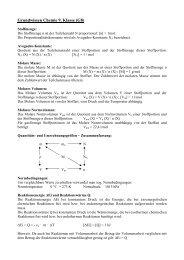 Grundwissen Chemie 9. Klasse (G8) - Ohm-Gymnasium
