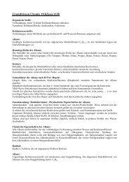 Grundwissen Chemie 10.Klasse (G8) - Ohm-Gymnasium