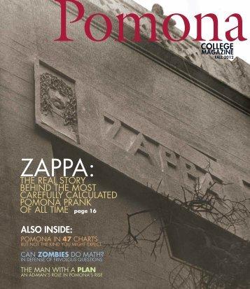 Download the PDF - Pomona College Magazine
