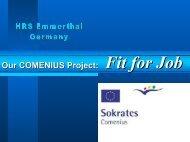 Fit for Job - Johann Comenius Schule Emmerthal