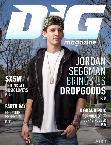 April '13 Issue - DIG Magazine