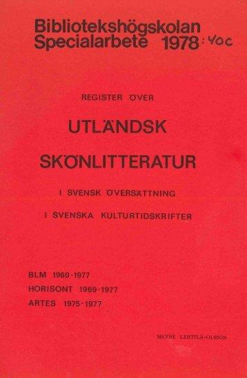 1978 nr 40.pdf - BADA - Högskolan i Borås