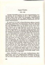 August Franken - Naturwissenschaftlicher Verein für Bielefeld und ...