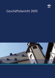 Geschäftsbericht 2005 - OKV-online
