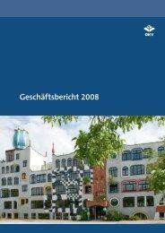 Geschäftsbericht 2008 - OKV-online