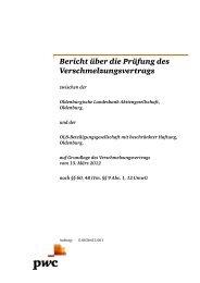 Verschmelzungsprüfungsbericht der PricewaterhouseCoopers ...