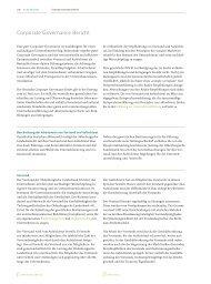 Corporate Governance Bericht - Oldenburgische Landesbank