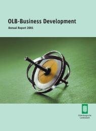 OLB-Business Development - Oldenburgische Landesbank