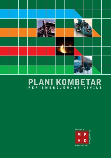 2004 Plani Kombetar per Emergjencat Civile - Ministria e Brendshme