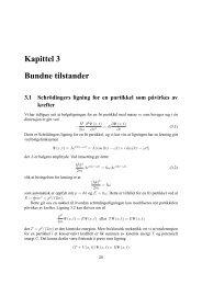 Kapittel 3 Bundne tilstander