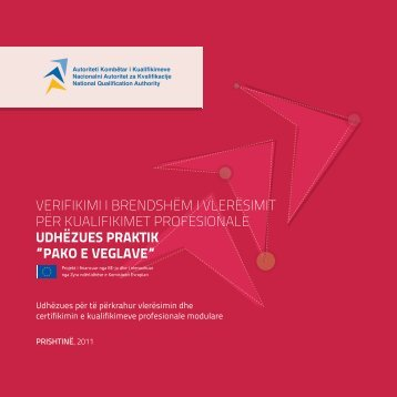 Vlerësimi i brendshëm i vlerësimit për kualifikimet profesionale