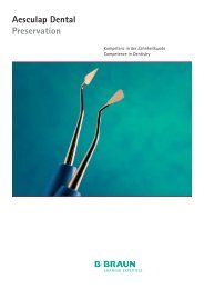Aesculap Dental Preservation - Aesculap Dental Catalog