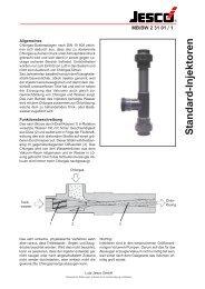 S tandard-Injektoren - Lutz-Jesco GmbH