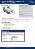 Einbau- und Bedienungsanleitung HW in_access point 2.4 - Homeway - Seite 2
