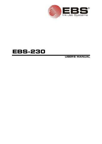 Ebs 6200 инструкция