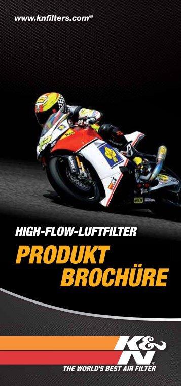 PRODUKT BROCHÜRE - K&N Performance Filters