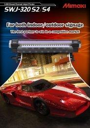SWJ-320 Series Catalog PDF(1.06MB) - mimaki engineering co., ltd.