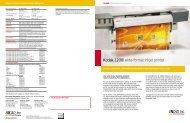 Kodak 1200i wide-format inkjet printer