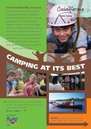 CAMPING AT ITS BEST - Camp Coolamatong