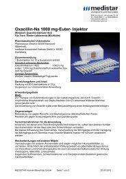 Oxacillin-Na 1000 mg-Euter- Injektor - MEDISTAR ...