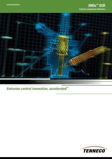XNOx™ SCR - Tenneco Inc.