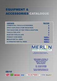 EQUIPMENT & ACCESSORIES CATALOGUE - Merlin Diesel