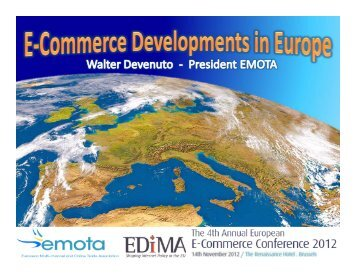 Walter Devenuto EMOTA - Forum Europe EMS
