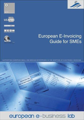 Download the European e-Invoicing Guide for SMEs - Celeris Ltd.