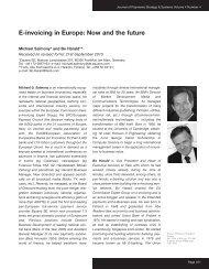 E-invoicing in Europe - Equens SE