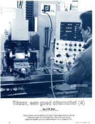 5.11 Titaan, een goed alternatief (deel 4) - Van Leeuwen Stainless