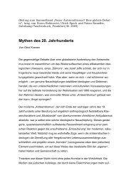 Mythen des 20. Jahrhunderts - Gerd Koenen