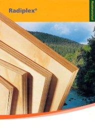 Radiplex brochure - Eco-logisch