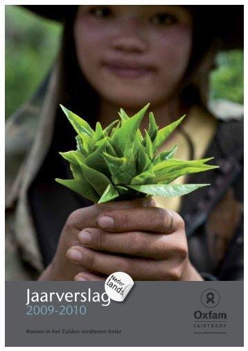 OXFAM FAIRTRADE Jaarverslag 2009-2010.pdf - Kauri