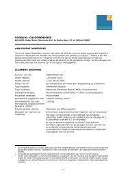 Chlooremissie, AKZO Nobel Base Chemicals BV - Onderzoeksraad ...