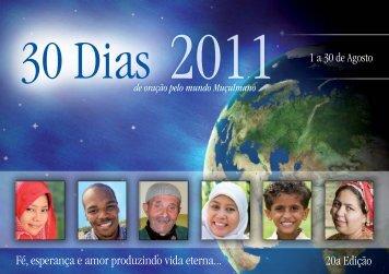 30 Dias de Oração pelo Mundo Muçulmano - Get a Free Blog