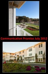 Communication Promise July 2012 - Beacon Communities