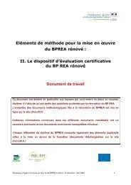 Le dispositif d'évaluation certificative du BPREA rénové - ChloroFil
