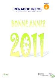 Renadoc Infos Janvier 2011 - ChloroFil