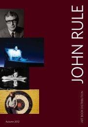 Download PDF - John Rule Art Book Distribution