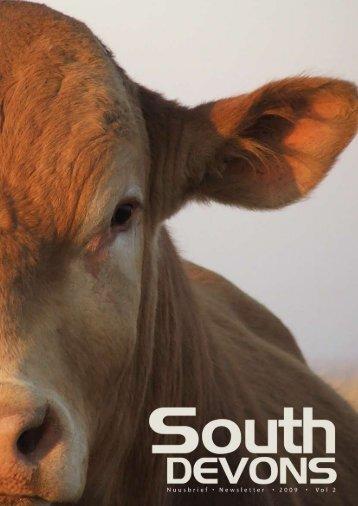 southdevon • newsletter • vol 2 • 2 0 0 9 1 - South Devon Cattle ...