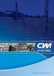 quality people, quality products - CWI wire