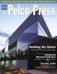 Press Release Summer 2003 - Pelco