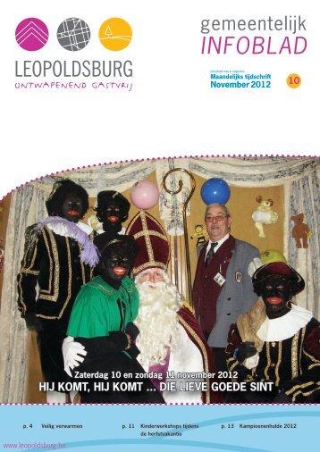 INFOBLAD - Leopoldsburg