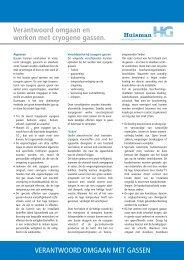 Veilig en verantwoord omgaan en werken met cryogene gassen