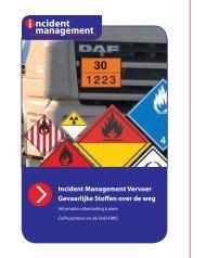 Incident Management Vervoer Gevaarlijke Stoffen over de weg