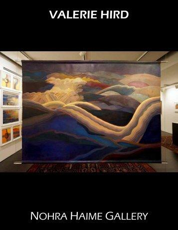 VALERIE HIRD - Nohra Haime Gallery
