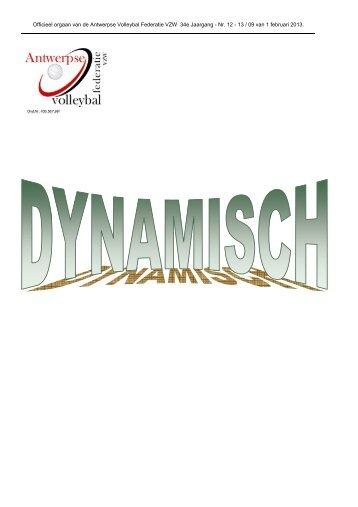 Dynamisch 09 - Antwerpse Volleybal Federatie