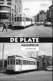 DE PLATS - De Plate