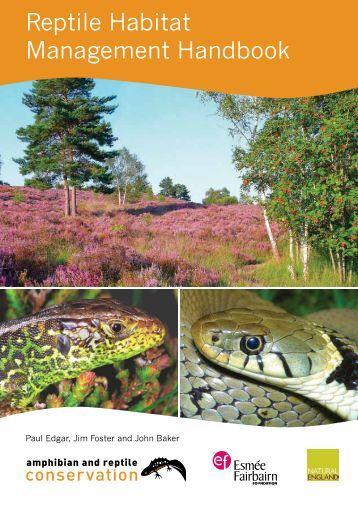 Full Reptile Habitat Management Handbook - Amphibian and ...