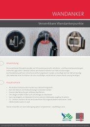 Wandanker - access group gmbh